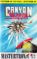 Canyon Warrior ZX Spectrum Front Cover