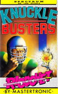 Knuckle Busters ZX Spectrum Front Cover