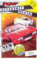 Super Stuntman ZX Spectrum Front Cover