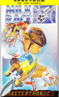 Milk Race ZX Spectrum Front Cover