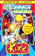 Last Duel: Inter Planet War 2012 ZX Spectrum Front Cover
