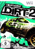 DiRT 2 Wii Front Cover