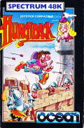 Hunchback ZX Spectrum Front Cover
