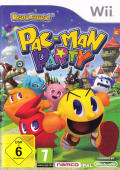 Pac-Man Party Wii Front Cover