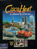 Cisco Heat: All American Police Car Race Atari ST Front Cover