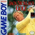 Jack Nicklaus Golf Game Boy Front Cover