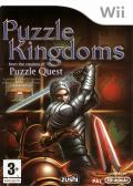 Puzzle Kingdoms Wii Front Cover