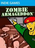 Zombie Armageddon Xbox 360 Front Cover