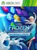 Frozen: Free Fall - Snowball Fight Xbox 360 Front Cover