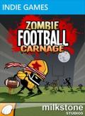 Zombie Football Carnage Xbox 360 Front Cover