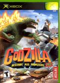 Godzilla: Destroy All Monsters Melee Xbox Front Cover