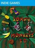 Zombie Monkeys TD Xbox 360 Front Cover