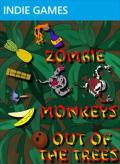 Zombie Monkeys Out of the Trees Xbox 360 Front Cover