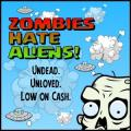 Zombies Hate Aliens! Windows Phone Front Cover