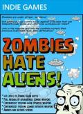 Zombies Hate Aliens! Xbox 360 Front Cover
