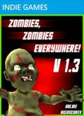 Zombies, Zombies Everywhere! Xbox 360 Front Cover