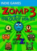 Zomp 3: The Quest for Z's Xbox 360 Front Cover