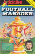 Football Manager ZX Spectrum Front Cover