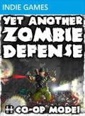 Yet Another Zombie Defense Xbox 360 Front Cover