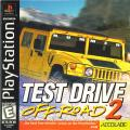 Test Drive: Off-Road 2 PlayStation Front Cover