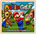 Mario Golf Wii U Front Cover