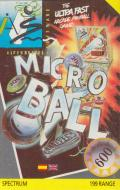 Microball ZX Spectrum Front Cover