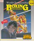 World Championship Boxing Manager Atari ST Front Cover