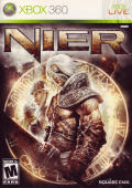 NieR Xbox 360 Front Cover