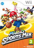 Mario Sports Mix Wii U Front Cover