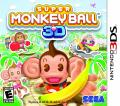 Super Monkey Ball 3D Nintendo 3DS Front Cover