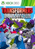 Transformers: Devastation Xbox 360 Front Cover