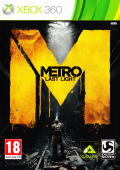 Metro: Last Light Xbox 360 Front Cover