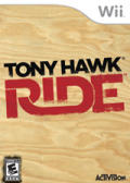 Tony Hawk: Ride Wii Front Cover