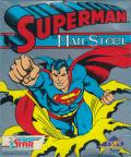 Superman: The Man of Steel Atari ST Front Cover