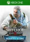 The Witcher 3: Wild Hunt - Hearts of Stone Xbox One Front Cover 1st version