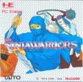 The Ninja Warriors TurboGrafx-16 Front Cover