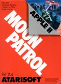 Moon Patrol Apple II Front Cover