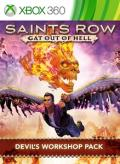 Saints Row: Gat Out of Hell - Devil's Workshop Pack Xbox 360 Front Cover