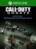 Call of Duty: Ghosts - Festive Personalization Pack Xbox One Front Cover 1st version