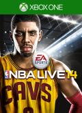 NBA Live 14 Xbox One Front Cover 1st version