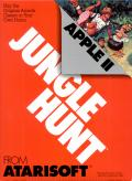 Jungle Hunt Apple II Front Cover