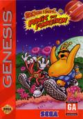 ToeJam & Earl in Panic on Funkotron Genesis Front Cover