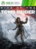 Rise of the Tomb Raider Xbox 360 Front Cover