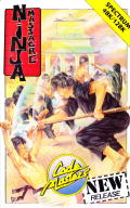 Ninja Massacre ZX Spectrum Front Cover