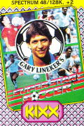 SuperStar Soccer ZX Spectrum Front Cover