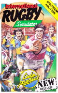 International Rugby Simulator ZX Spectrum Front Cover