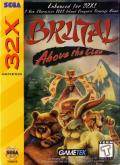 Brutal: Above the Claw SEGA 32X Front Cover