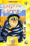 Chubby Gristle Amstrad CPC Front Cover