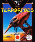 Terrorpods Amstrad CPC Front Cover Sleeve Front