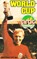 World Cup Amstrad CPC Front Cover